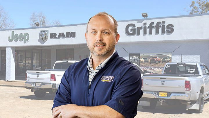 Wright Griffis, Parts and Service Manager at Griffis Motors